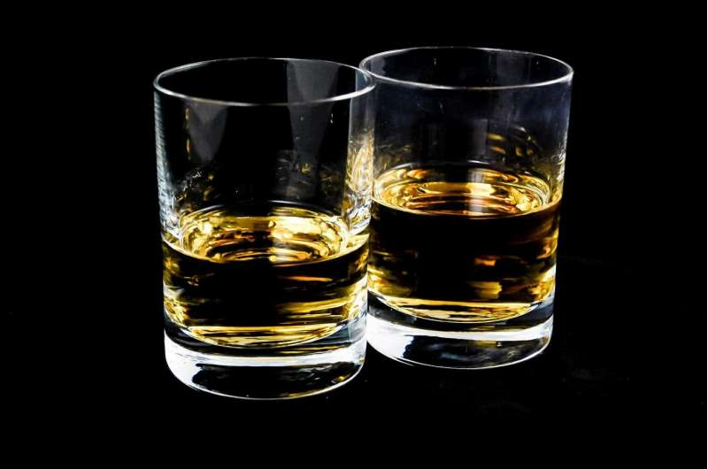 Link between heavy drinking and mental health problems in UK Police Service
